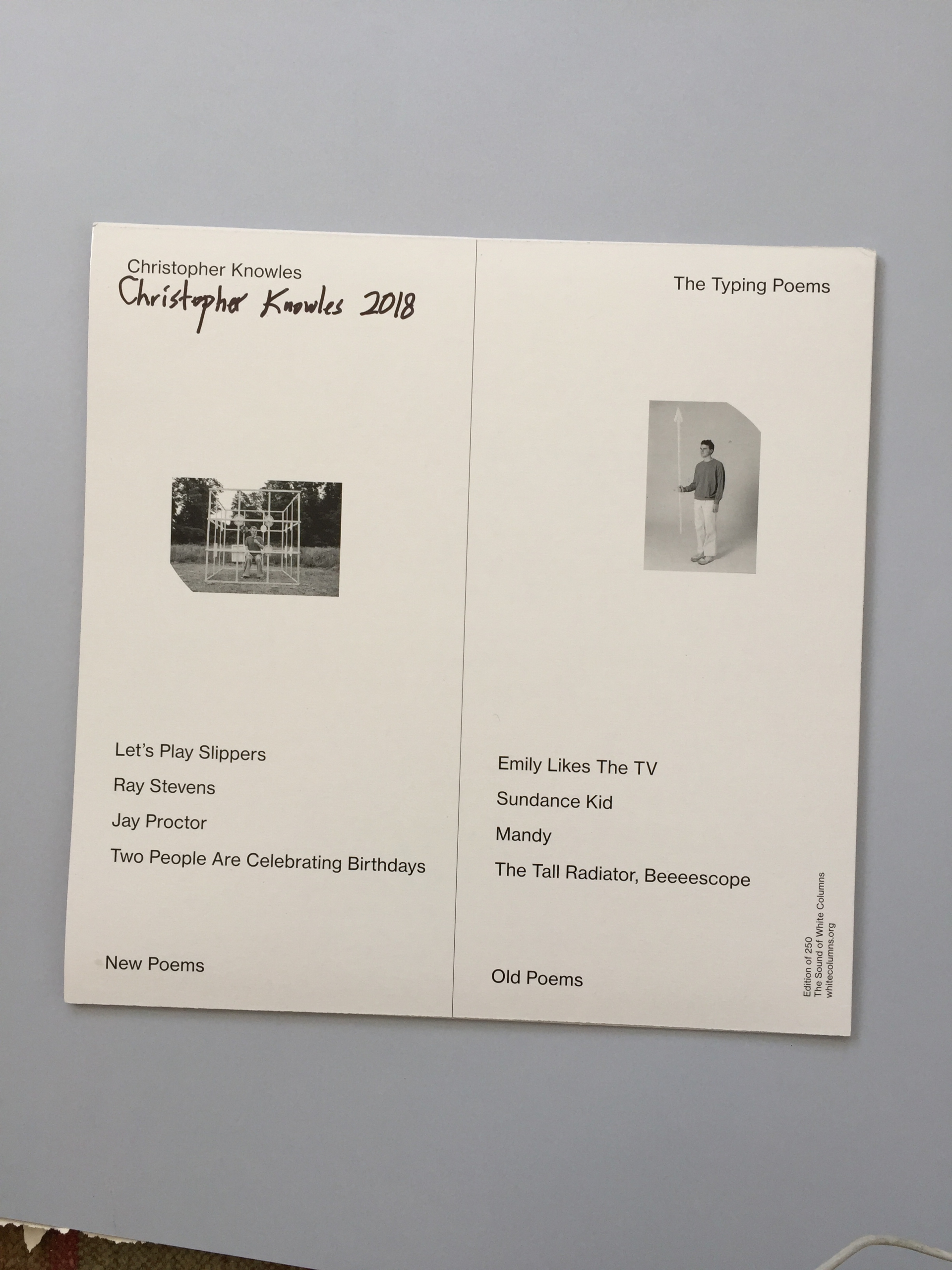 WWFG The Sound of White Columns (2012–2014)